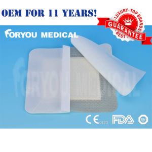 Silicone AG Foam Dressing with FDA510k Clearance Sfd1001A pictures & photos