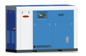 Permanent Magnet & VFD Two Stage Air Screw Compressor 3bar Low Pressure pictures & photos