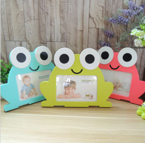 Carton Frog Shape Painting MDF Frames pictures & photos