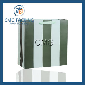 Green Stripe Printing Small Gift Packing Bag (DM-GPBB-054) pictures & photos
