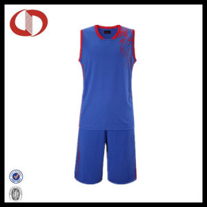 Womans Fashion Printing Dry Fit Basketball Uniform pictures & photos