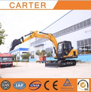 Hot Sales CT85 (0.34M3&8.5T) Diesel-Powered Hydraulic Crawler Excavator pictures & photos