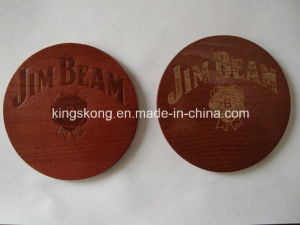 Round Shape Coaster Wood Nature Color Nice Design Coaster pictures & photos