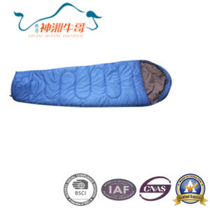 Customized Color Mummy Sleeping Bag for Camping
