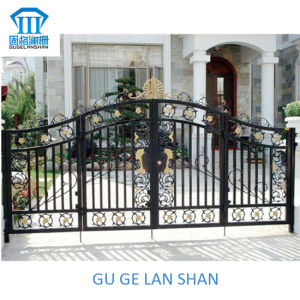 High Quality Crafted Wrought Iron Gate 045 pictures & photos