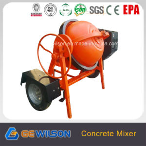 Small Portable Gasoline Concrete Mixer 350L pictures & photos