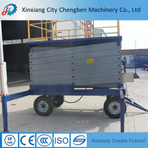 Hydraulic Manlift Scissor Lift Platform for Wheelchair pictures & photos