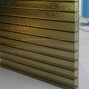 Bronze Polycarbonate PC Twin Wall Hollow Sheet pictures & photos