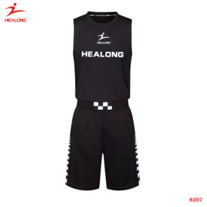 Healong Mens New Style Basketball Uniform Custom Camouflage Basketball Jersey pictures & photos