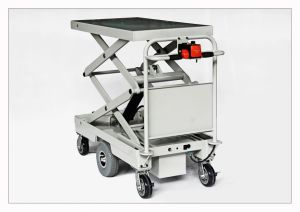 Electric Lift Table with Centre Drive for Materials Handling (HG-1060B) pictures & photos