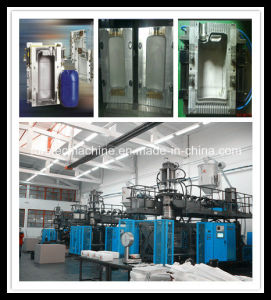 Extrusion Blow Moulding Machine for Drum Jerry Cans pictures & photos