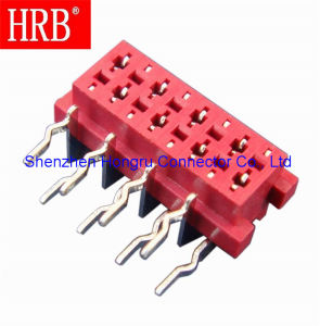 AMP 215460 Right Angle Pin Header Electronic Connector pictures & photos