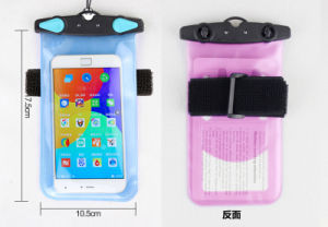 Large Waterproof Cell Phone Cases, Mobile Phone PVC Bag for Promotional Gift pictures & photos