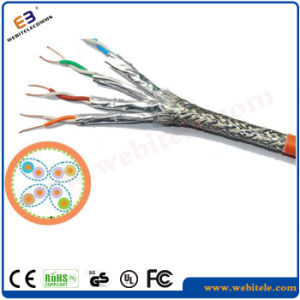 S/FTP Cat 7 Twisted Pair Network Cable pictures & photos