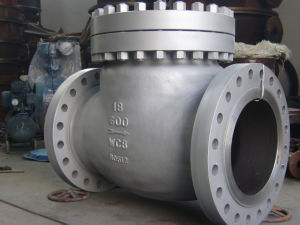 API Flanged Cast Steel Swing Check Valve (150LB~900LB) pictures & photos