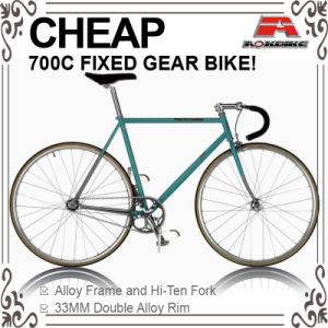 Cheap Hi-Ten 700c Track Bicycle with Front Caliper (ADS-7081S) pictures & photos