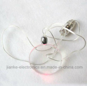 Promotional Colorful LED Light Necklace with Log Print (2001)