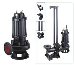 Qw Series Mobile Type Submersible Waste Water Pump pictures & photos