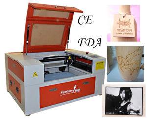Cortadora Laser Fibra Rotary (for engraving round items) pictures & photos
