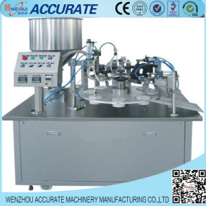 Tooth Paste Tube Filling and Sealing Machine (LM-FWJ150) pictures & photos