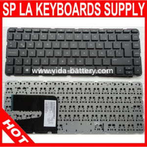 Spanish Notebook Keyboard for HP Pavilion 14-E 14e Black pictures & photos