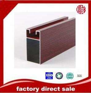 Wood Grain Aluminium Profile, Anodizing, Polishing pictures & photos