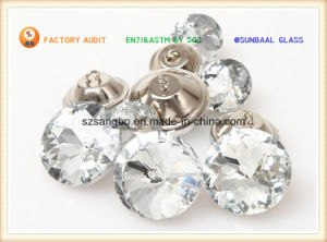 Crystal Glass Button for Garments & Decorations pictures & photos