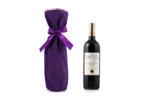 Velvet Wine Gift Bag, Wine Bottle Bag pictures & photos