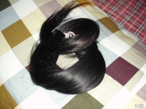 100% Virgin Human Remy Hair Raw Material Cut From Young Women Hair Bulk Lbh 036 pictures & photos