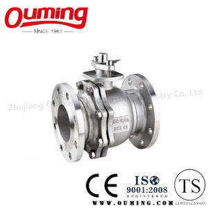 JIS Standard Stainless Steel Flanged Ball Valve pictures & photos