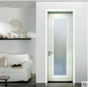 Standard Glass Door with PVC Frame pictures & photos