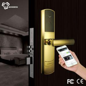 TCP/IP Zinc Alloy Smart NFC Cylinder Door Lock pictures & photos