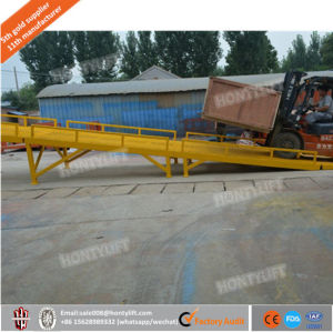 Adjustable Loading 10 Ton Mobile Dock Ramp for Sale pictures & photos