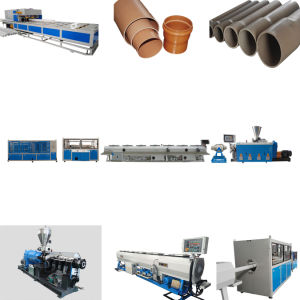 PVC Reinforce Pipe Extrusion Line pictures & photos