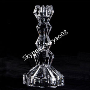 Hand Blown Glass Candle Holder pictures & photos