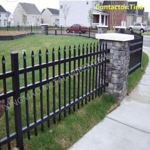 Steel Picket Security Garrison Fencing (XM2-41) pictures & photos