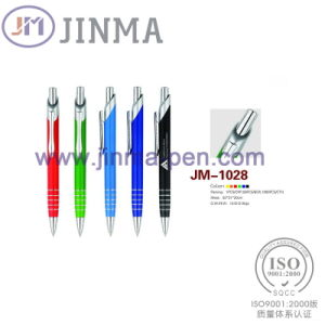 The Hot Promotion Gift Plastic Ball Pen Jm-1028 pictures & photos