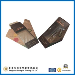 Color Paper Sandwich Packing Box with Wondow (GJ-box148) pictures & photos