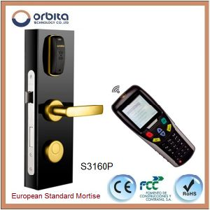 11 Years China Smart Handle RFID New Hotel Door Locks pictures & photos