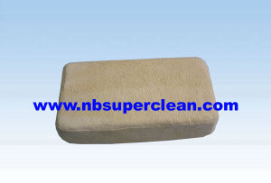 Soft and Durable Use Pure Sheepskin Tanned Chamois Demister Pads (CN3272) pictures & photos