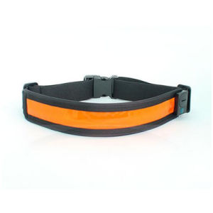 Colorful Running with Reflective Elastic Strap LED Waistband pictures & photos