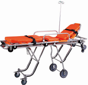 Aluminum Alloy Ambulance Stretcher (FDA registered) (TD010131F)