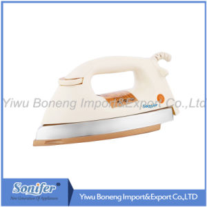 CB Approved Ab-30 Electric Iron Heavy Duty Dry Iron 1000W Golden/Gray/Silvery Soleplate pictures & photos