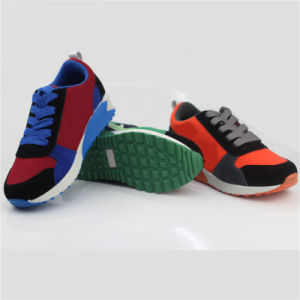 Children Sport Shoes Kids Injection Shoes with Magic Tap (snc-260023) pictures & photos
