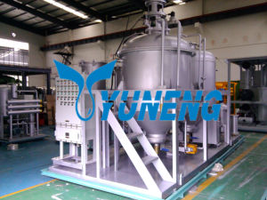Continuous Working Tire Oil Cleaning Machine for Decoloration pictures & photos