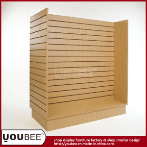 Wooden Clothing Gondola Shelf for Retail Shop pictures & photos