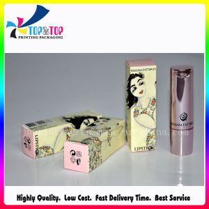 Wholesale Custom Size Folding Paper Cosmetic Packaging Lipstick pictures & photos