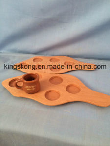 Wooden Beer Glass Tray Decorative Wooden Trays pictures & photos