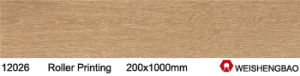 Roller Printing Global Glaze New Products Floor Tiles Wood pictures & photos