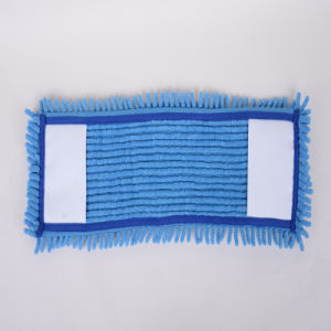 Blue, Large, Microfiber Cleaning Mop Head